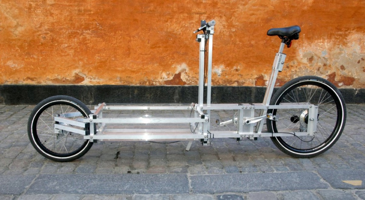 XYZ CARGO BIKE - slim, light-weight design