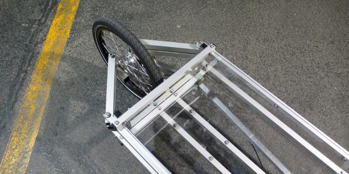 XYZ CARGO BIKE - flat steering design