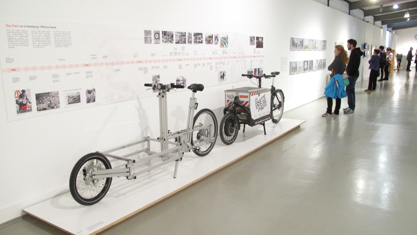 "XYZ CARGO BIKE at Museum of Hamburg's show ""The Bike"""