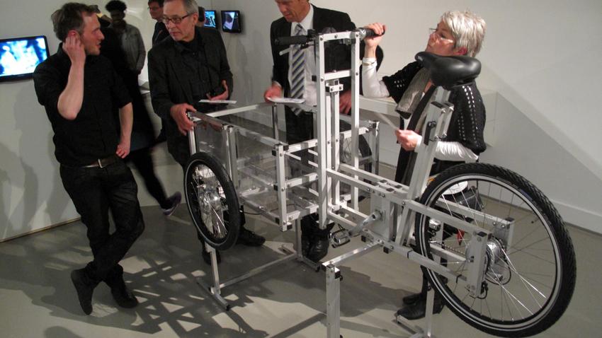 XYZ CARGO TRIKE - assembly line