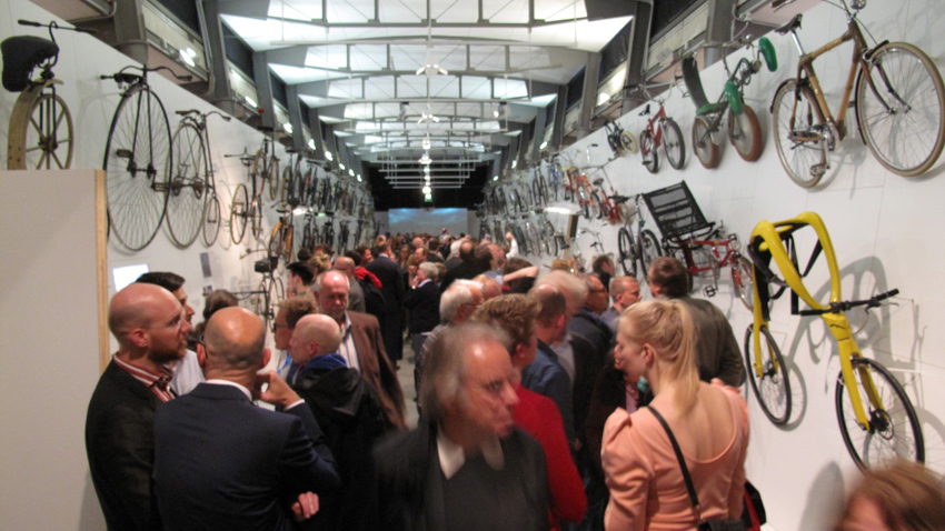 "Museum of Hamburg, exhibtion ""The Bike"", opening"