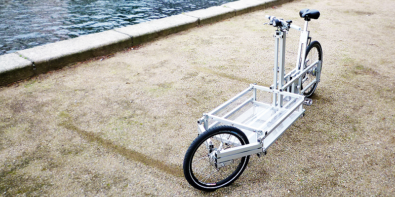 XYZ CARGO BIKE - produced locally in Copenhagen & Hamburg