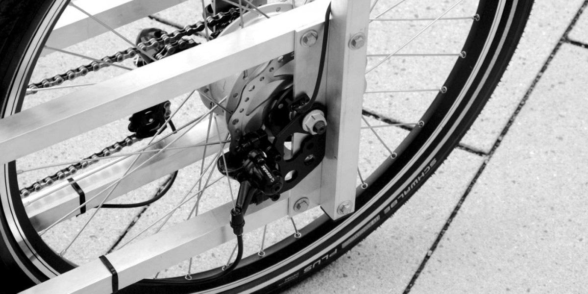 XYZ CARGO TRIKE - 250W motor hub and disc brakes