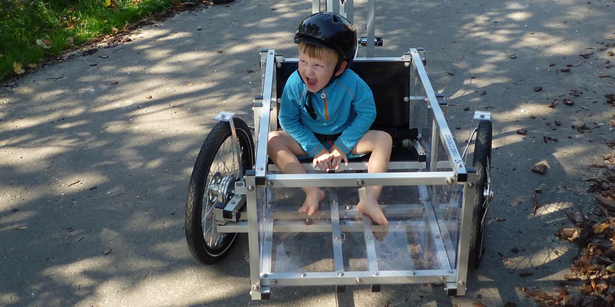 XYZ CARGO TRIKE childseat