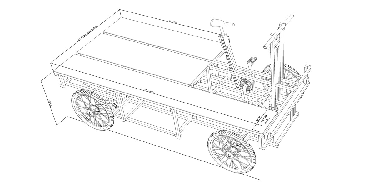 XYZ CARGO TRUCK - Maße / Measurements