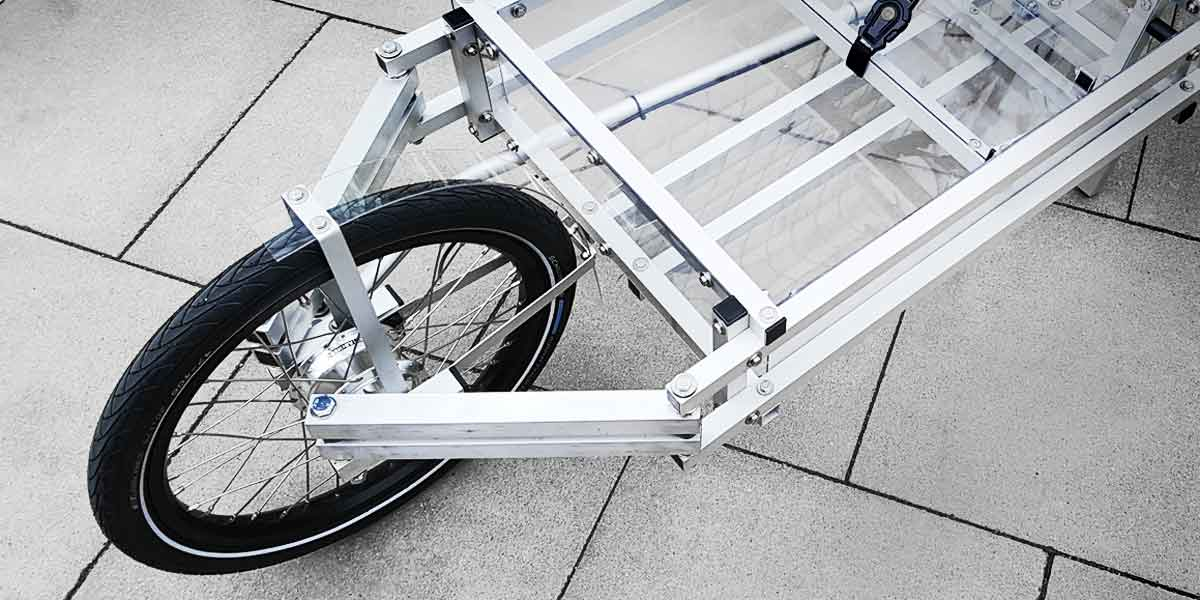 XYZ CARGO BIKE - Unique Steering Geometry