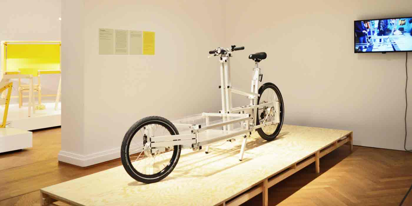 XYZ CARGO BIKE at Bröhan Museum Berlin