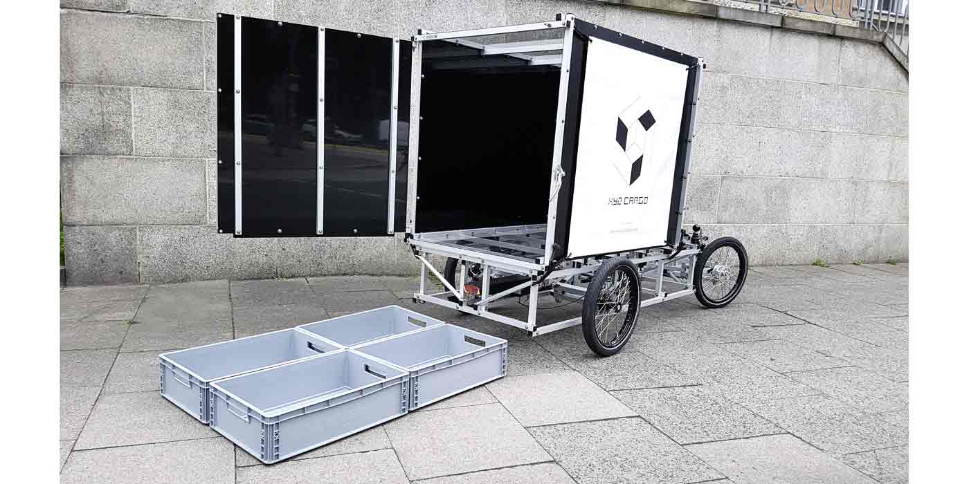 XYZ CARGO FOURWHEELER  mit Ladebox